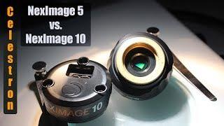 Celestron: NexImage 5 vs.  NexImage 10