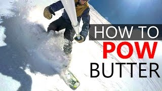 #10 Snowboard intermediate – How to POW butter