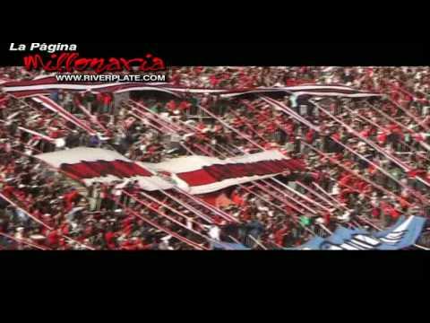 """""""Yo te aliento de la cuna hasta el cajón, en Parque Patricios, Clausura 2009"""" Barra: Los Borrachos del Tablón • Club: River Plate • País: Argentina"""