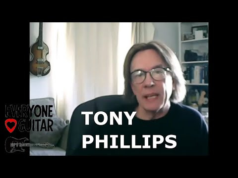 Tony Phillips Interview - Joni Mitchell, Pete Townshend, Gary Moore, David Gilmour