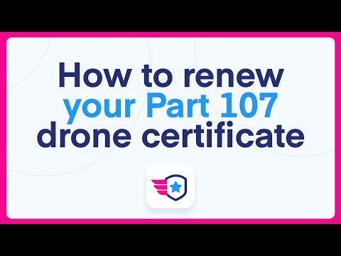 How to renew your Part 107 remote pilot certificate - YouTube