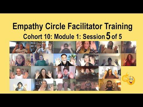 Empathy Training: Cohort 10: Module 1: Session 5 of 5 - YouTube