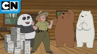 The Bear Bros Help Tabes | We Bare Bears | Cartoon Network