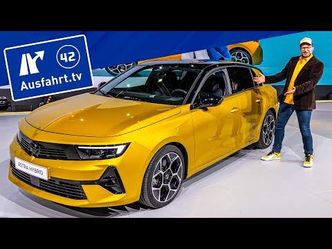 2022 Opel Astra L (2021) * Opel Astra-e * Sitzprobe, Weltpremiere, Debut, kein Test