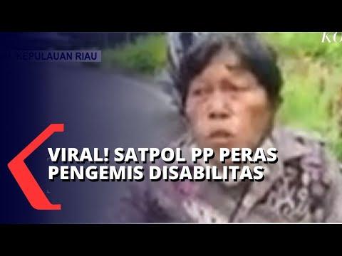 viral anggota satpol pp peras pengemis disabilitas
