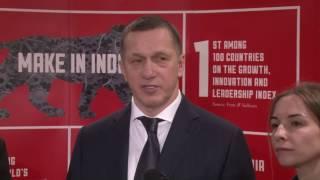 Вице-премьер Юрий Трутнев и Губернатор края Вячеслав Шпорт подвели итоги рабочей поездки в республику Индия