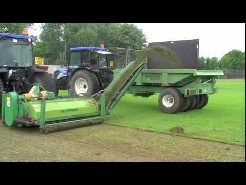 Koroing – How to renovate Sports Pitches – football, rugby