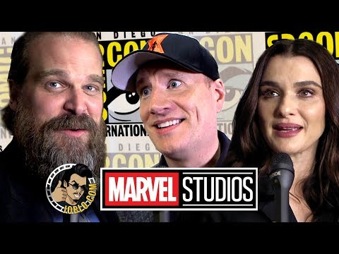MARVEL: Kevin Feige, Black Widow Cast & More Exclusive Interview!