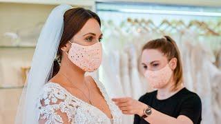 video: Watch: What it's like buying a wedding dress in lockdown