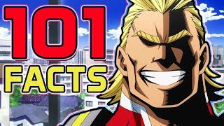 101 My Hero Academia Facts That You Probably Didn't Know! (101 Facts) | Boku No Hero Academia