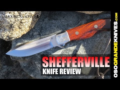 Lamoureux & Sons Shefferville Hunting Knife Review | OsoGrandeKnives