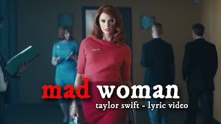 Taylor Swift - mad woman (Official Lyric Video) - [Betty, James & Inez] fanfic