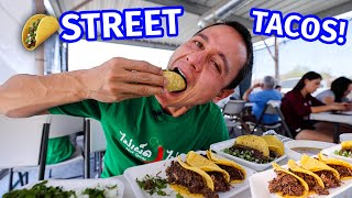 Ultimate Mexican Street Food Tour!! MEAT JUICE TACOS + Sonoran Hot Dogs in Tucson, Arizona!!