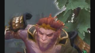 Правильная озвучка Monkey King ( Манки Кинг )