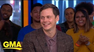 'It Chapter Two' star Bill Skarsgard talks FaceTiming with daughter … as Pennywise!     GMA