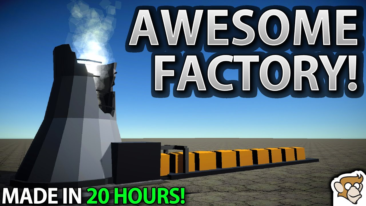 I Made a Factory Game in 20 HOURS!