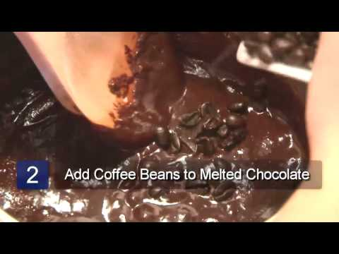 How to Make Chocolate-Covered Coffee Beans