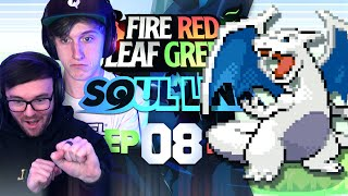 OUR GFUEL CUP IS HERE! • Pokemon Fire Red & Leaf Green Randomizer Soul Link • 08