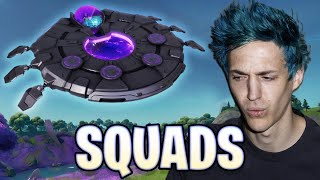 DESTROYING with the Flying Saucer in Fortnite!   Ninja (ft. @DrLupo, @SypherPK, @CouRage)