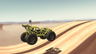 MMX HILL CLIMB DASH Offroad Racing The Joyrider / The Bouncer Gameplay | Hill Climb Racing