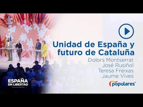 Hablamos de la unidad de España y del futuro de Cataluña
