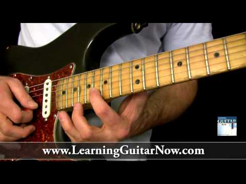 Eric Clapton Slow Blues Guitar Lesson