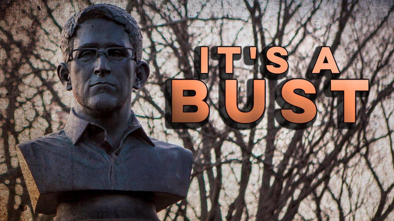 Artists Snuck Edward Snowden Statue Into Brooklyn War Memorial thumbnail