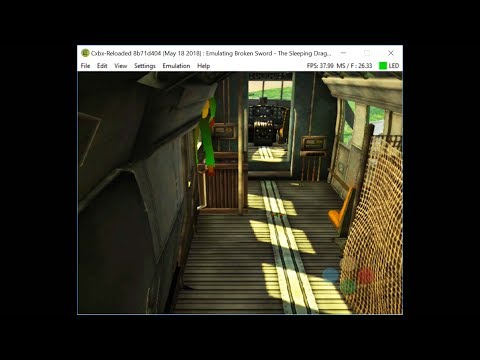 Cxbx-Reloaded Xbox Emulator - OutRun 2 Ingame! (8b71d40) - смотреть
