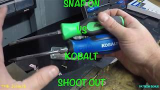 640d6c4ef Patreon Bonus Snap On Vs Kobalt Screwdrivers Shoot Out Which Ones To  Buy🛠🔩👍