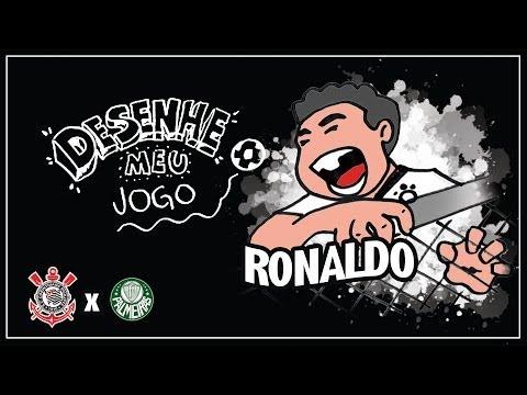 Corinthians X Palmeiras - Campeonato Paulista 2009 - DESENHE MEU JOGO #04