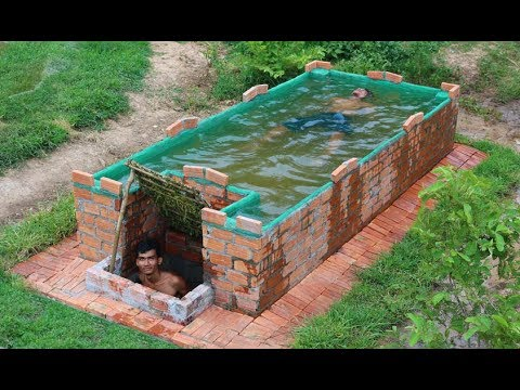 Build Swimming Pool On home  Underground