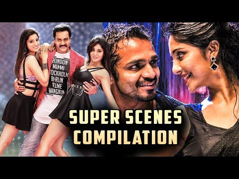 Hindi Dubbed Movies | Super Scenes compilation | South Indian Movies | Comedy | Love | Thriller