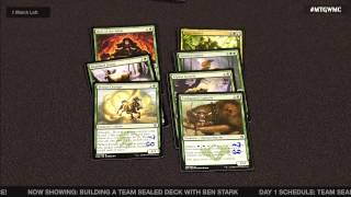 World Magic Cup: Team Sealed with Ben Stark