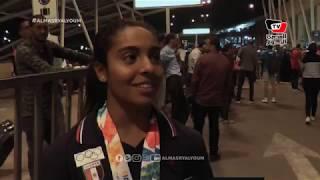 بعد فوزها بذهبية الخماسي الحديث في الأرجنتين.. سلمى أيمن: «الميدالية القادمة في طوكيو ٢٠٢٠»