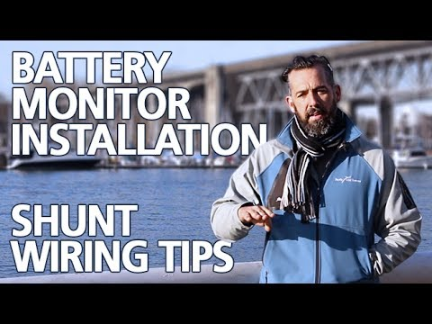 Tips - Battery Monitor Installation & Shunt Wiring