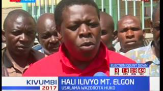 Hali ilivyo sehemu ya Mlima Elgon : Usalama wazorota huko