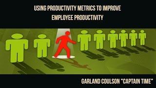 Using Productivity Metrics