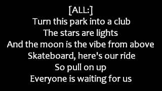 Hannah Montana [feat. Jonas Brothers] - We Got the Party (Lyrics on Screen)
