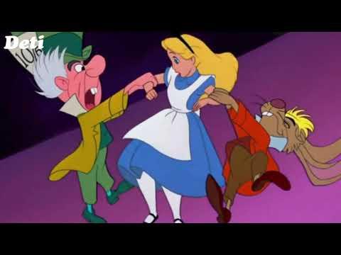Музыка и песня из мультфильма Алиса в стране чудес/Music Alice in Wonderland