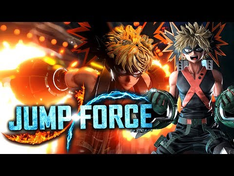 """KACCHAN IS HERE!"" Katsuki Bakugou Special Moves & HD Screenshots! JUMP FORCE DLC!"