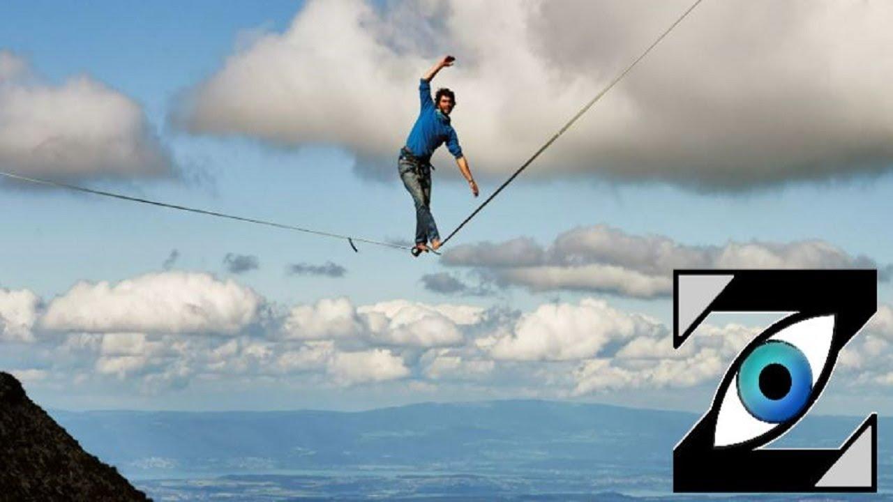 [Zap Net] La Highline Extreme, 450 mètres dans le vide (14/09/21)