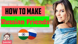 How to make Russian Friends | What is Russian's Facebook | Full Website Tour