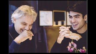 Il figlio di Andrea Bocelli. Mai visto Matteo? Alto, bello e con una voce 'wow': le foto  | LE NOTIZ