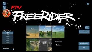 FREESTYLE drone Race SIMULATOR android apk freeriderFPV