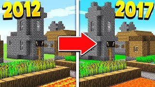 THE OLDEST MAP IN MINECRAFT!