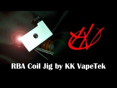 Tobeco RBA Coil Jig - устройство для изготовления спиралей - видео 3