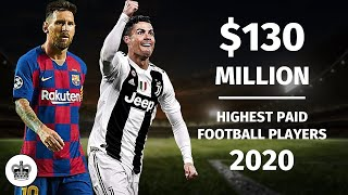 Top 10 HIGHEST PAID FOOTBALL PLAYERS In The World 2020/2021