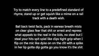 proclamation freestyle with lyrics