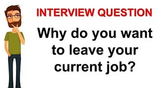 Why do you want to leave your current job | Interview Questions | Deal with COVID LAYOFFS | EP 9
