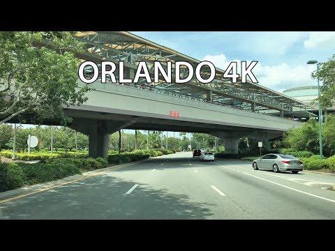 Drive 4K - Orlando Tourist Strip - USA